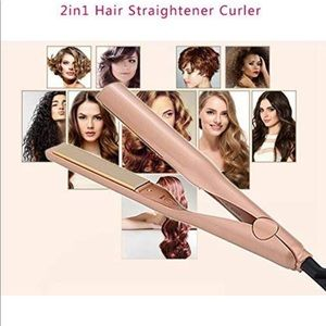 2 in 1 Hair curling iron and Hair straightener